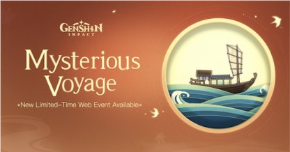 Mysterious Voyage Web Event