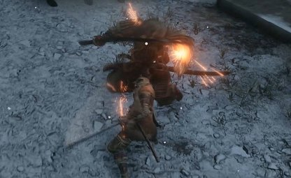 Parry & Deflect His Attacks