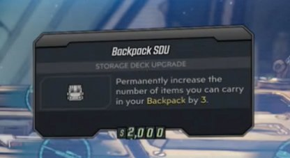 Max Out your Backpack SDU