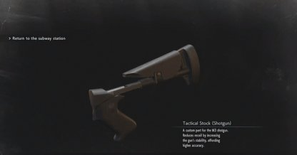 Tactical Stock