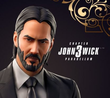 Part of John Wick x Fortnite Collaboration