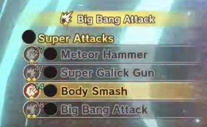 Super Attack Palette