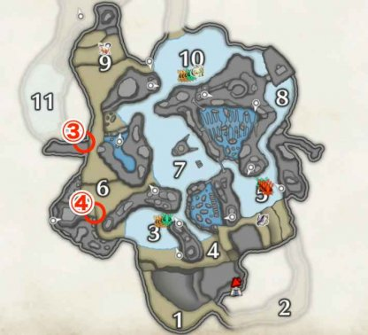 Frost Islands Relic Record Locations