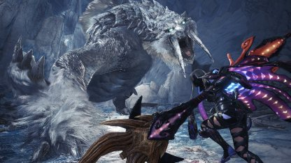 Frostfang Barioth Arrives In Iceborne