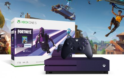 Dark Vertex Skin with Xbox One S Special Edition Bundle