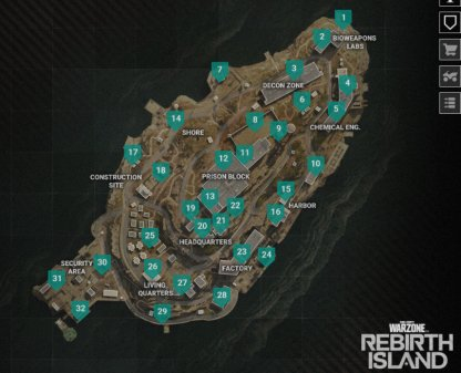 New Warzone Maps & Gulags