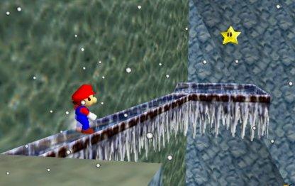 Across Icy Path