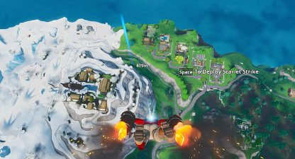 Go to Snobby Shores After Exiting Battle Bus
