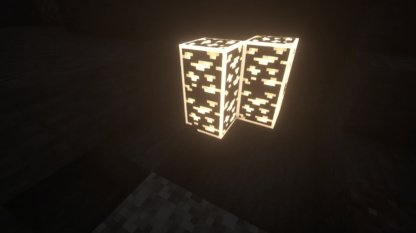 Brighter more visible ores