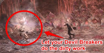 Use Your Devil Breakers To Single Out Enemies