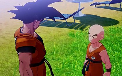 Talking To Krillin Unlocks Sub Stories