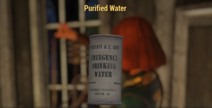 Fallout 76 How to Get Purified Water