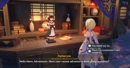 Approach Katheryne In Inazuma City