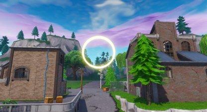 Fly Through Golden Rings - 14 Days of Fortnite Challenge
