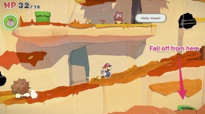 fall off