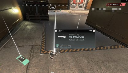 Apex Legends Pick Up Weapons Right After Landing