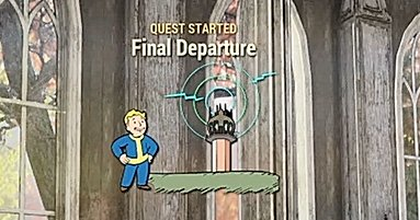 Fallout 76 Story Main Quest Final Departure