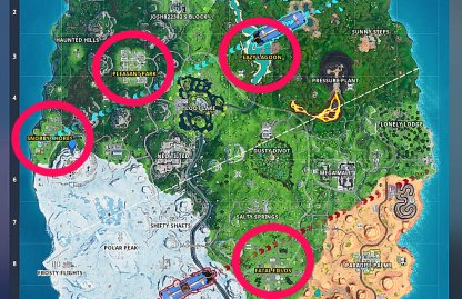 4 Hot Spots in Team Rumble