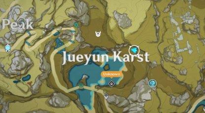 Jueyun Chili Map