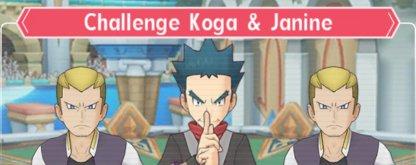 Challenge Koga & Janine