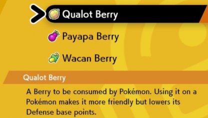 Eat Berries Of Corresponding Types