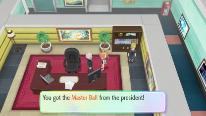 Receive Master Ball