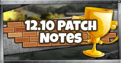 12.10 Patch Updates
