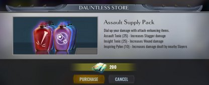 Resupply Your Consumable Items