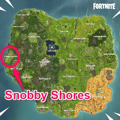 Stage 2: Land at Snobby Shores