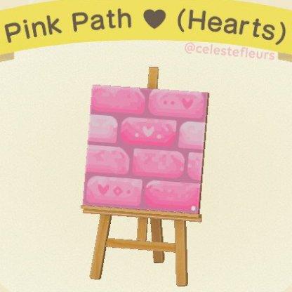 Pink Path ♥(Hearts)