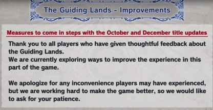 adjustment of guiding land