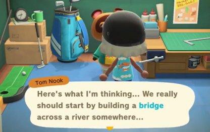 Complete First Bridge Construction