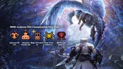 Iceborne USA Championship Item Pack Available!