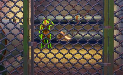 Find Jonesy Behind A Fence - Downtown Drop Challenge