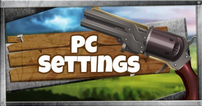 Recommended Settings / Controls for the PC