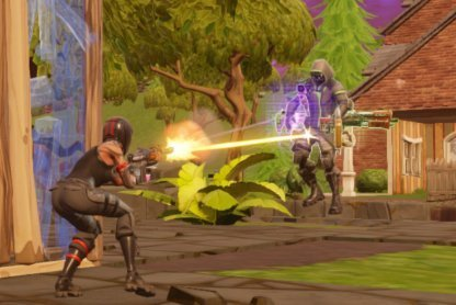 Fornite Battle Royale Season 7 Week 7 Challenge Deal Damage to Opponents