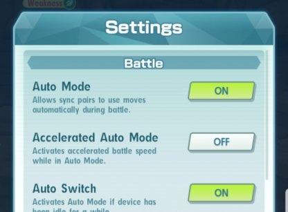 Use Auto Battling Feature
