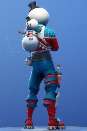 SLUSHY SOLDIER Back