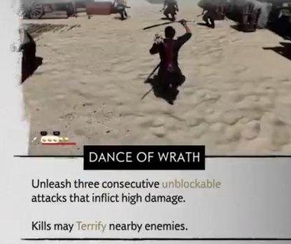 Dance Of Wraith