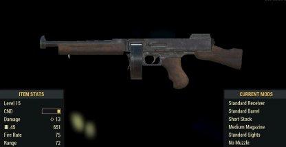 Submachine Gun Image