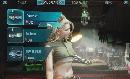 Devil May Cry 5 Spend Red Orbs For Item Purchases