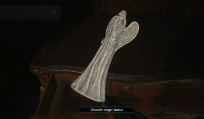 Wooden Angel Statue