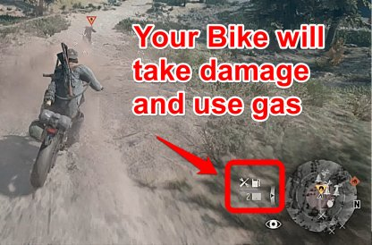 Your Bike Will Get Damaged & Use Gas