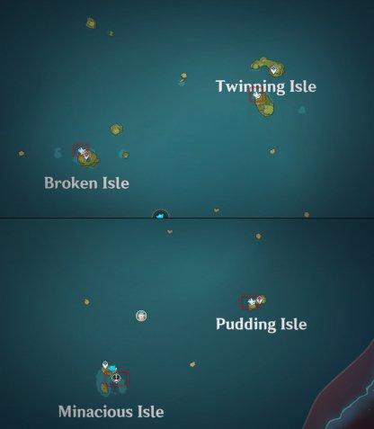 Waverider Waypoint Locations