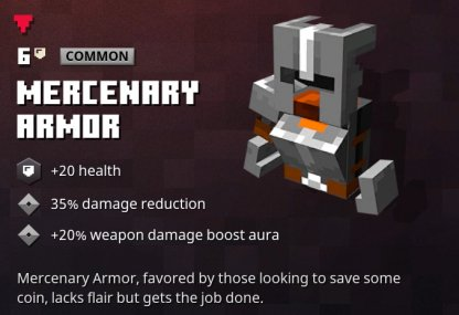 Mercenary Armor