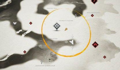 Tadayori's Rest Map Location