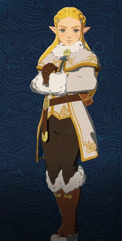 Zelda's Winter Clothes