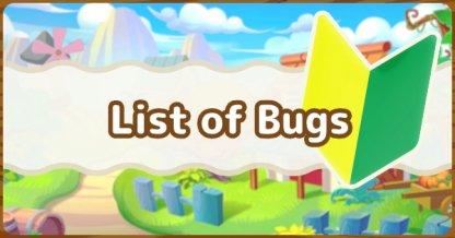 All Bug List