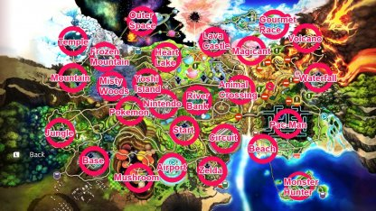 World of Light Light Side Map