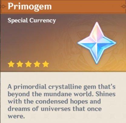 Primogem Is The Main Reward